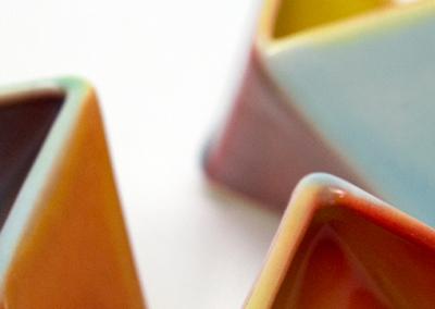Octahedronal Bud Vases & Small Vessels
